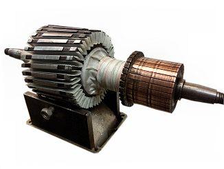 Armature rewinding service for Grayson armature small motor